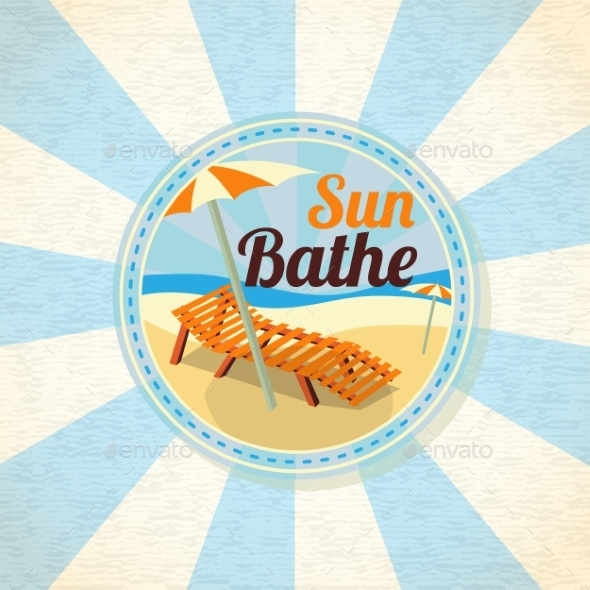 GraphicRiver Sun Bathe 11027879
