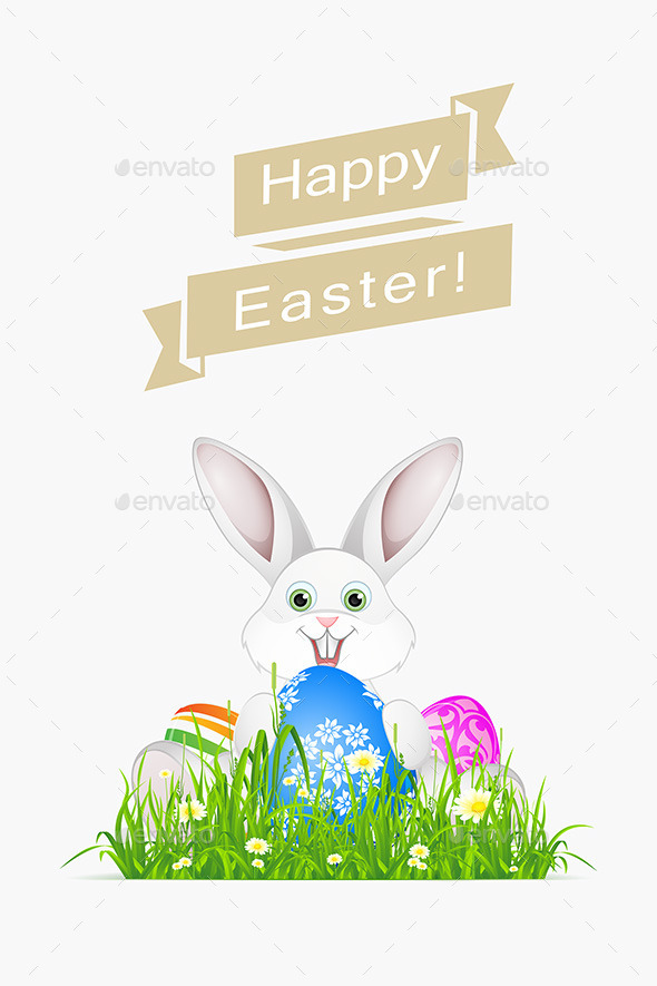 GraphicRiver Easter Holiday Card 11027922