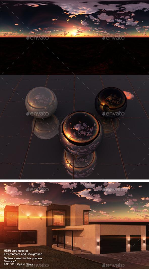 3DOcean Sunset Desert 1 11028342