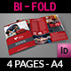 First Aid Brochure Bi-Fold Template - GraphicRiver Item for Sale