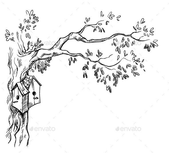 GraphicRiver Bird House 11028558