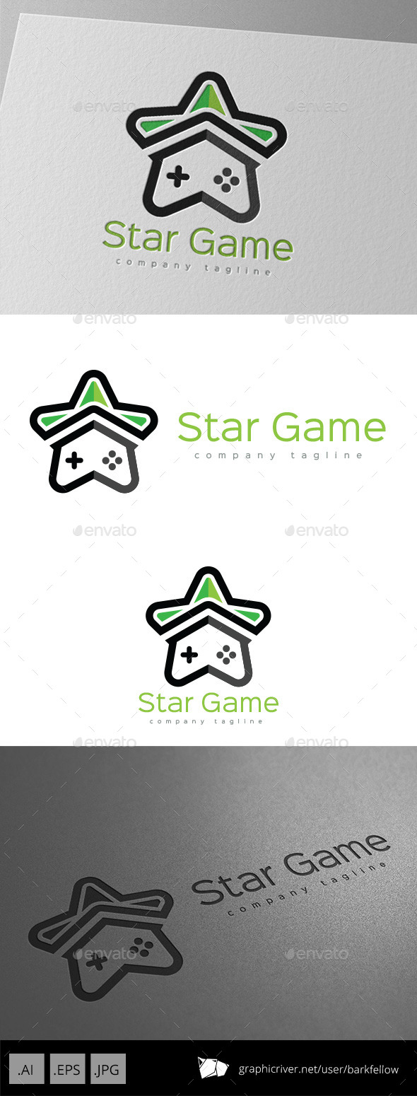 Star Game Logo Design