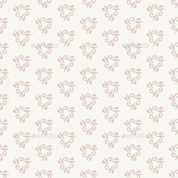 GraphicRiver Floral Seamless Vector Pattern 11029691