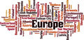 Countries in Europe Word Cloud Concept - PhotoDune Item for Sale