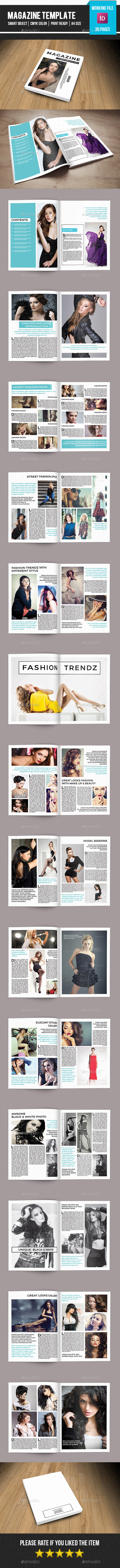 GraphicRiver Minimal Fashion Magazine-V09 11029715