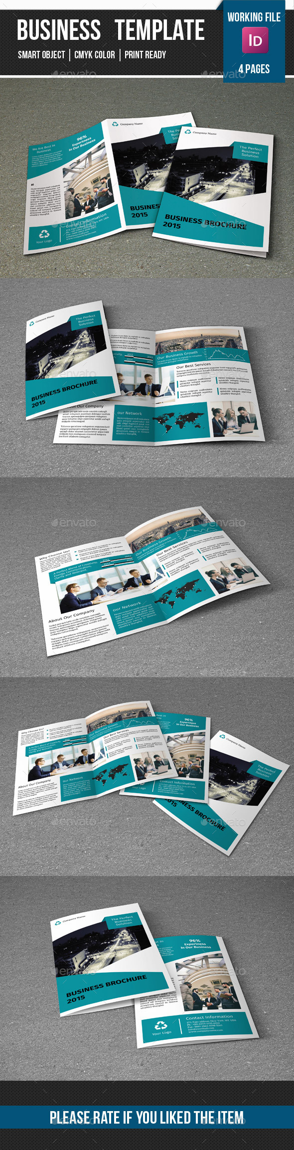 GraphicRiver Corporate Brochure-V233 11029730