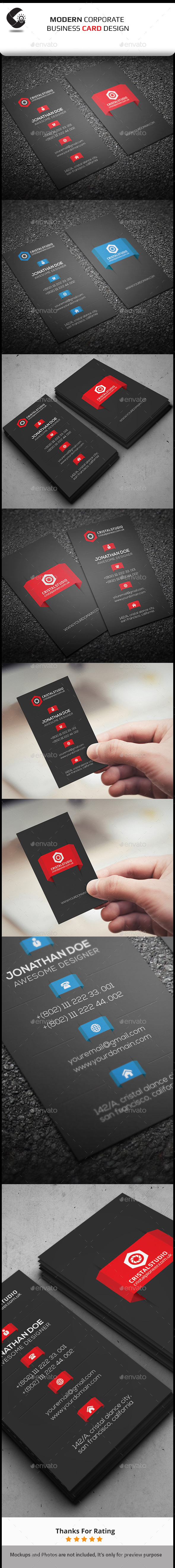 GraphicRiver Creative Business Card Template 11030209