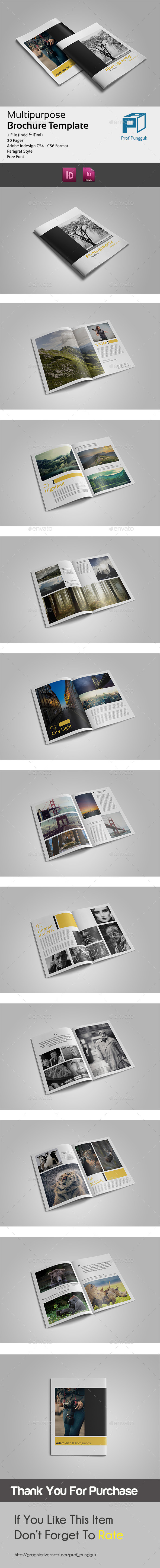 GraphicRiver Photography Portfolio 20 Pages 11030232