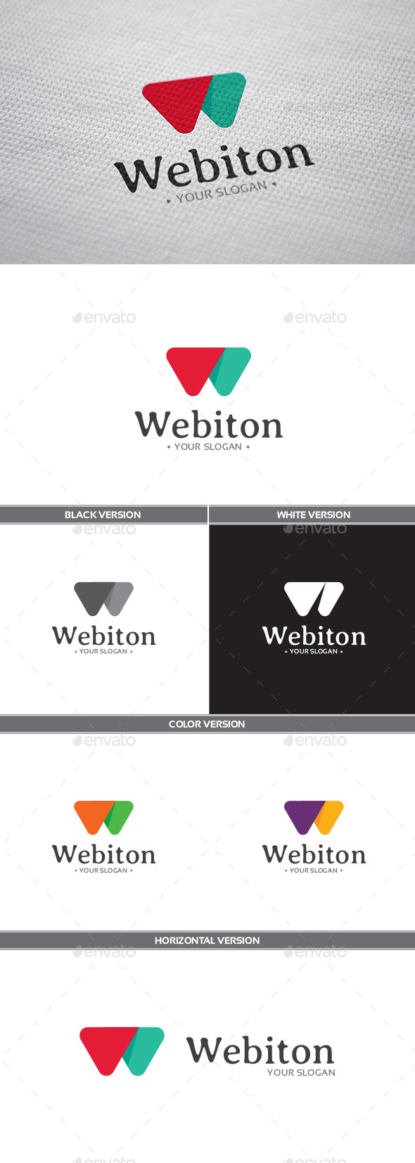 GraphicRiver Webiton Logo 11030556
