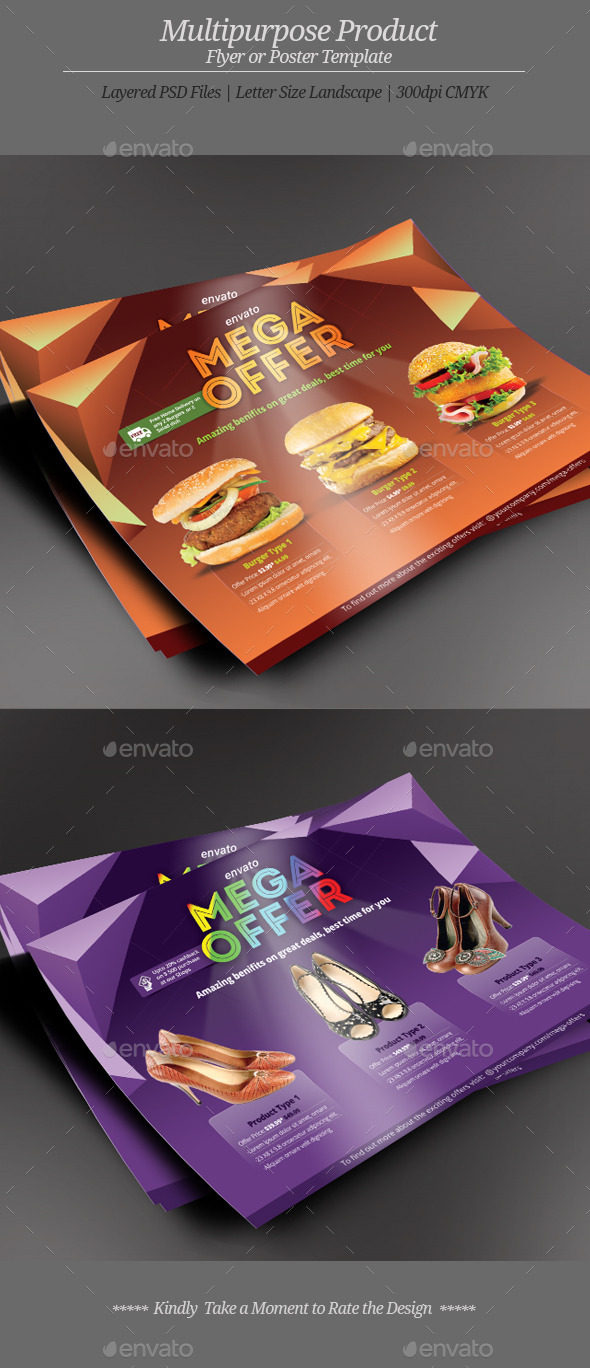 GraphicRiver Multipurpose Product Flyer or Poster 11030632