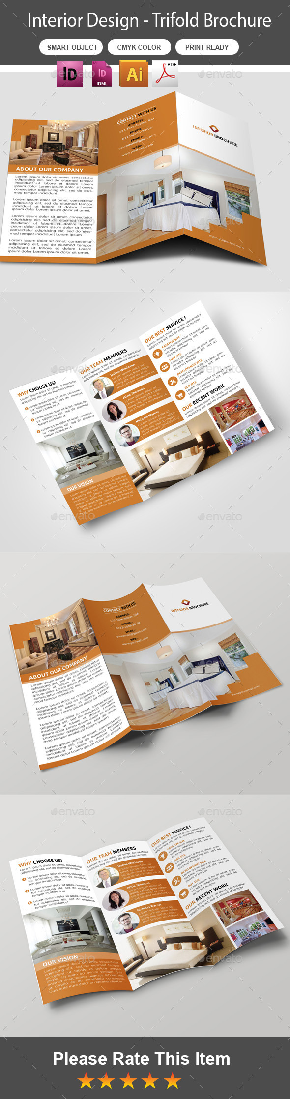 GraphicRiver Interior Trifold Brochure 11030664
