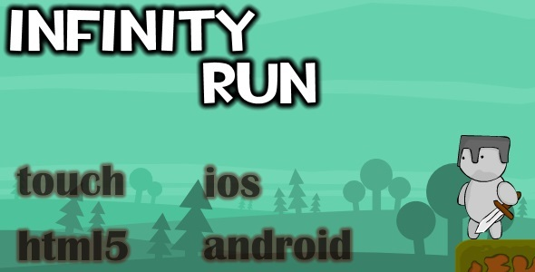 CodeCanyon Infinity run html5 Mobile game capx 11030958