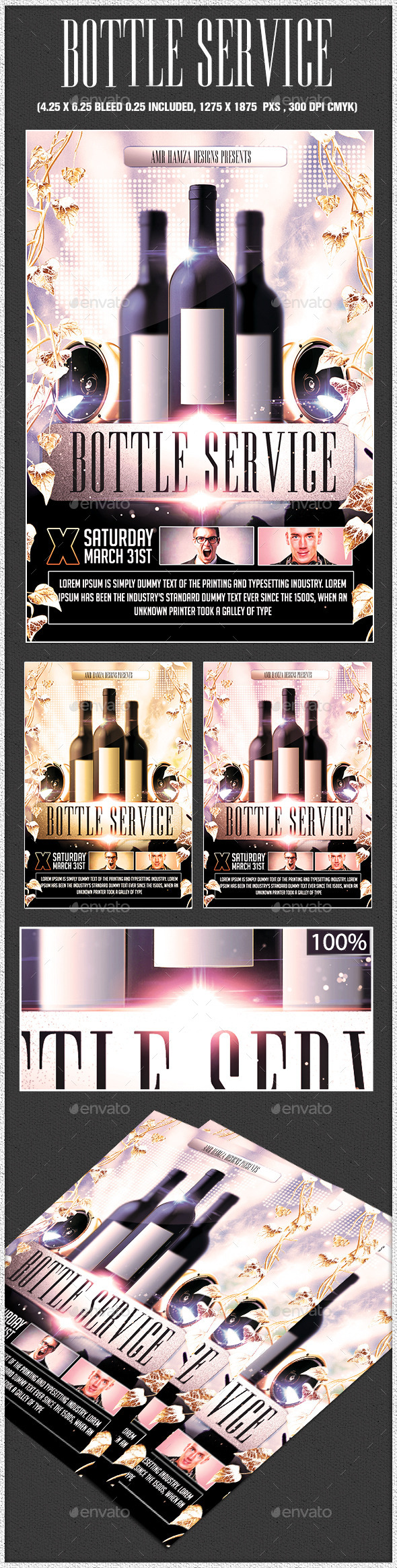 GraphicRiver Bottle Service 11031022