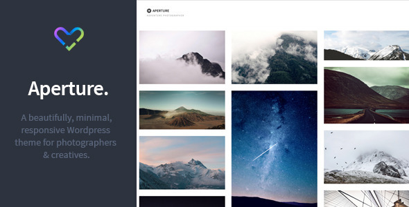 ThemeForest Aperture Responsive Photography WordPress Theme 11031064