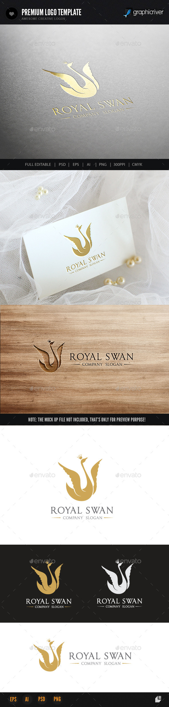 GraphicRiver Royal Swan 11031136