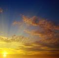 bright sunrise and beautiful sky - PhotoDune Item for Sale