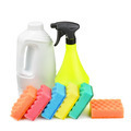 detergent and a sponge - PhotoDune Item for Sale