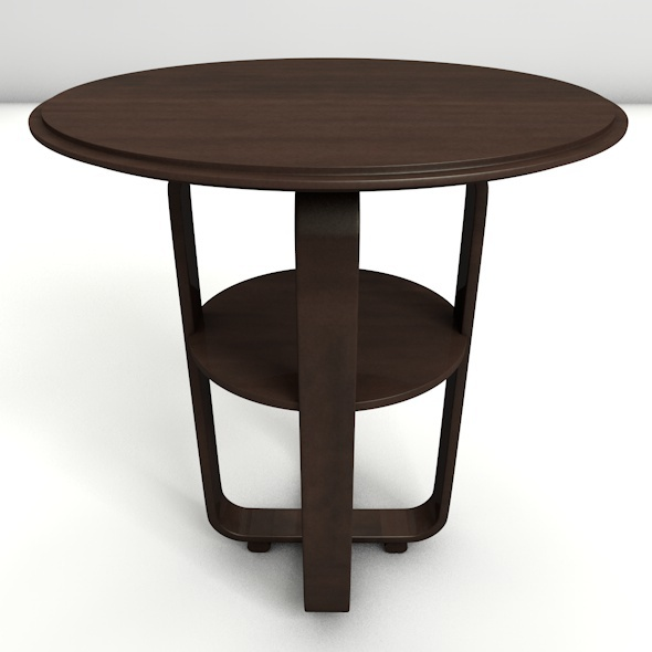 3DOcean Round Coffee Table 11031357