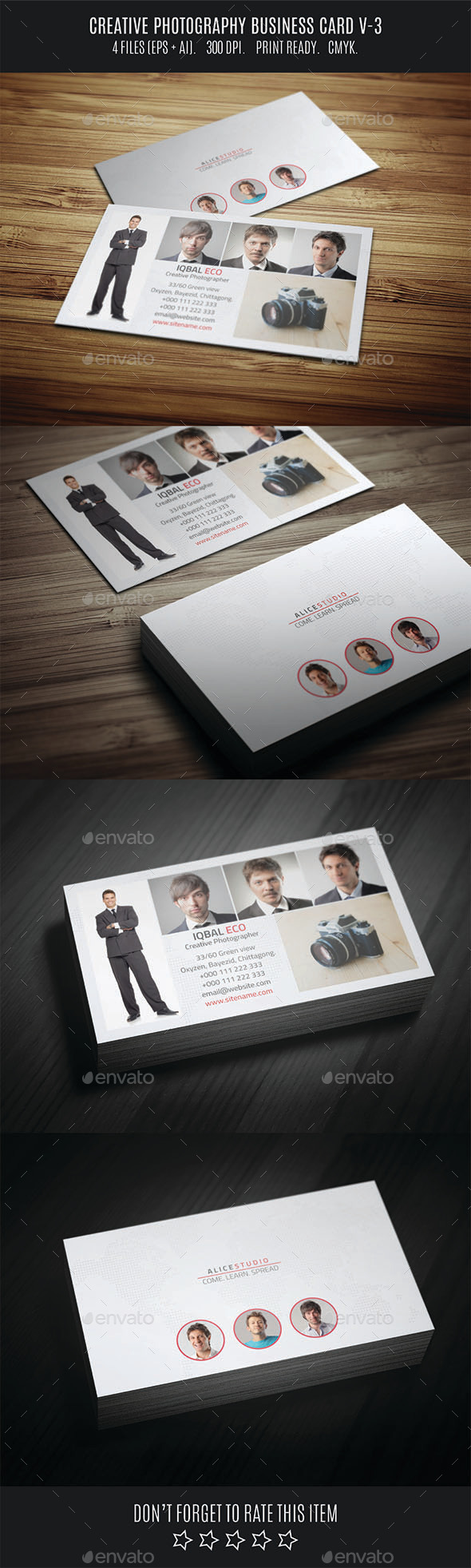 GraphicRiver Creative Photography Business Card V-3 11031359