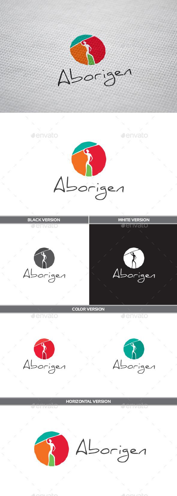 GraphicRiver Aborigen Logo 11031507