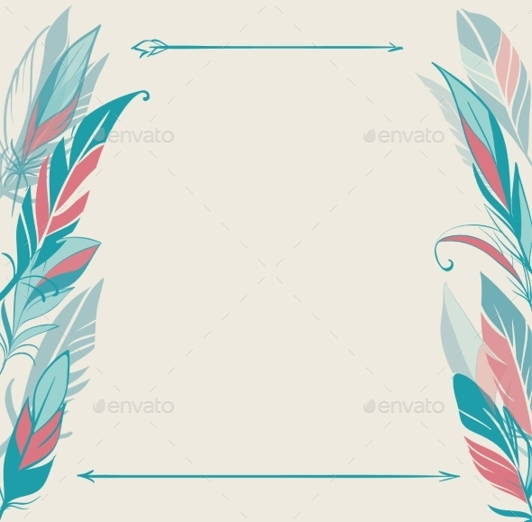 GraphicRiver Feather Frame 11031543