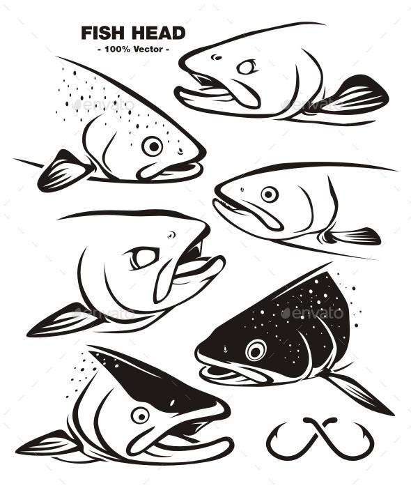 GraphicRiver Fish Head 11031575
