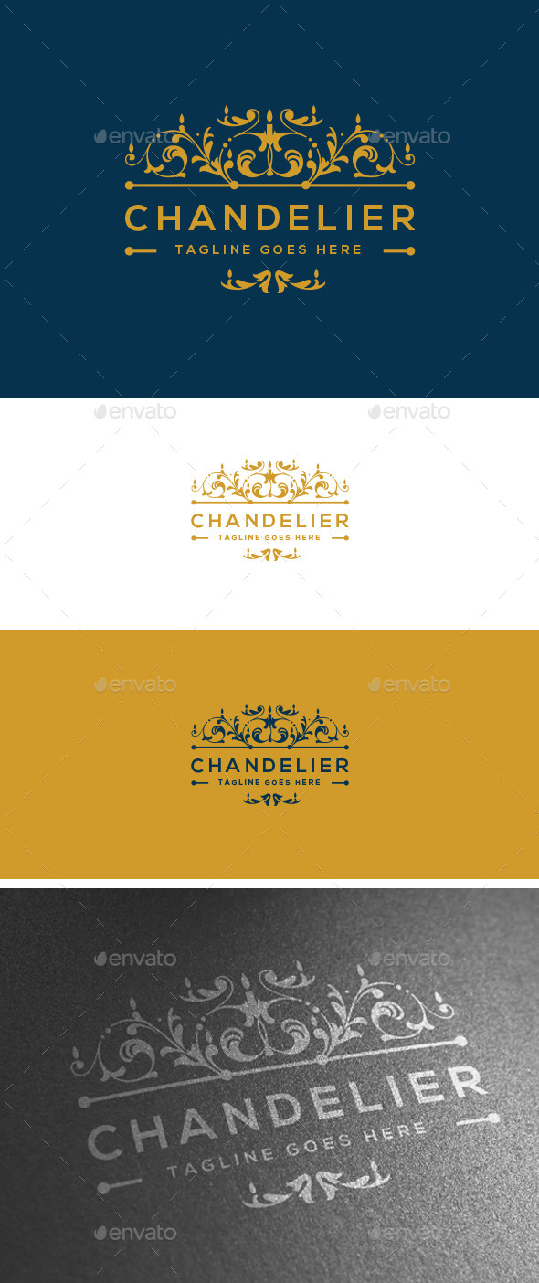 GraphicRiver Chandelier Logo Template 11031672
