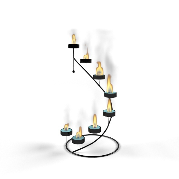 3DOcean Candlestick 11031805