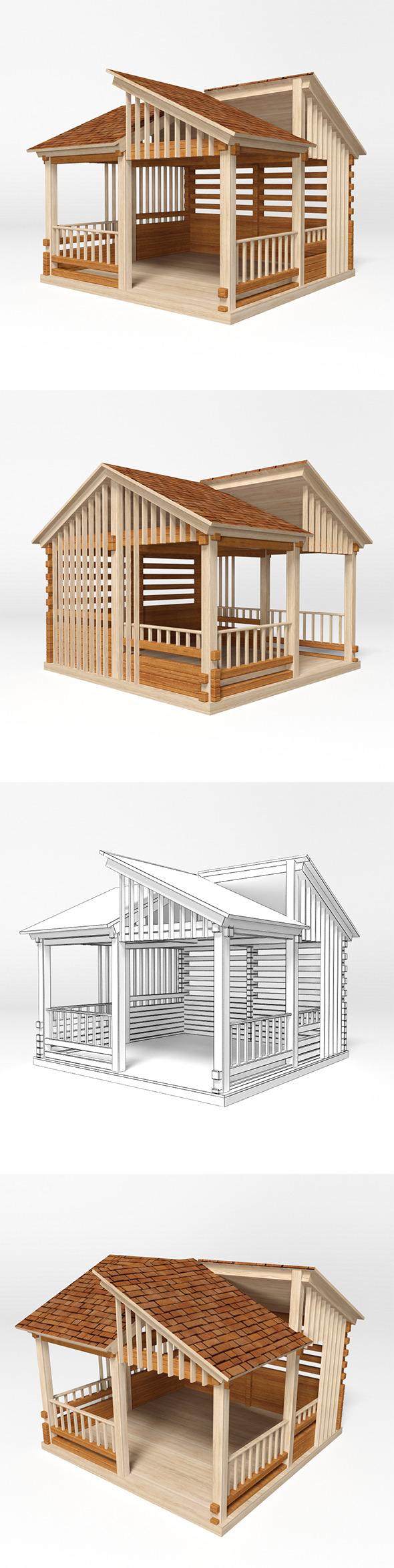 Gazebo 14 - 3DOcean Item for Sale