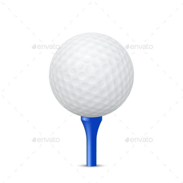 GraphicRiver Golf Ball Illustration 11031857