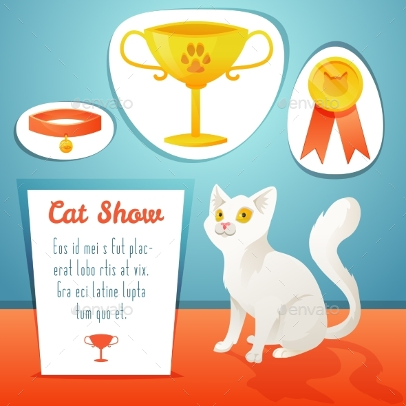 GraphicRiver Cat Winner 11031875