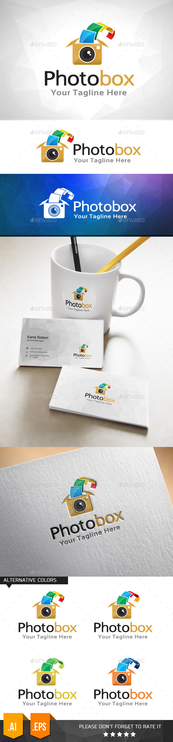 GraphicRiver Photo Box Logo Template 11031894