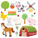 Farm Set - GraphicRiver Item for Sale
