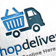 Shop Delivery Logo Template - GraphicRiver Item for Sale