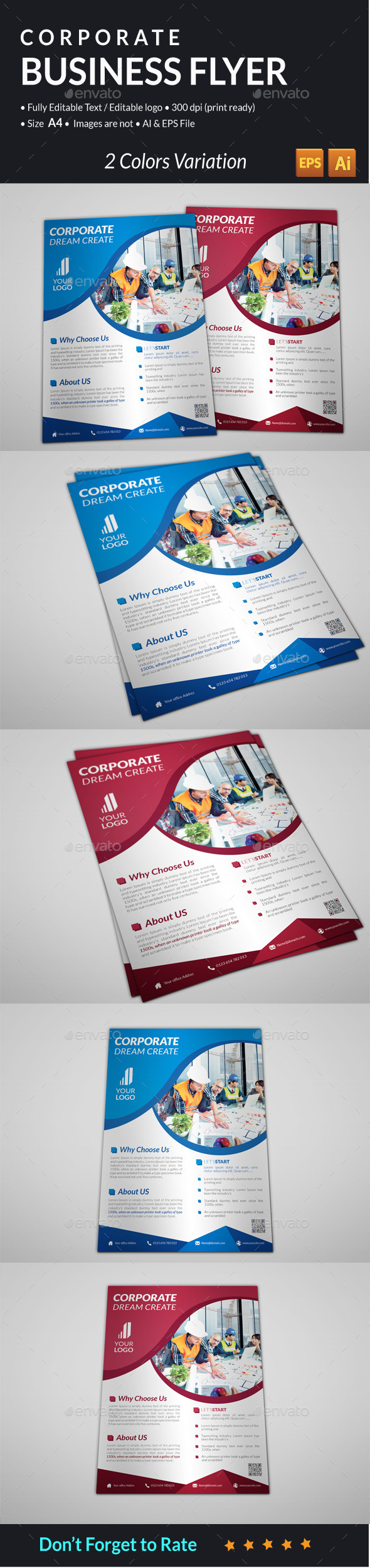 GraphicRiver Corporate Business Flyer 11032653