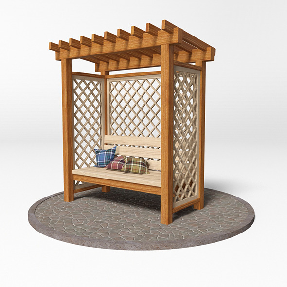 Gazebo 16 - 3DOcean Item for Sale