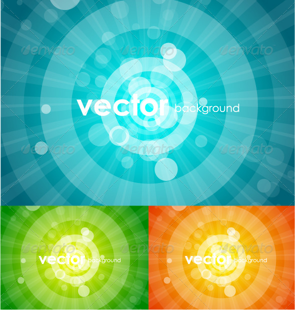 GraphicRiver Vector shiny backgrounds 136715