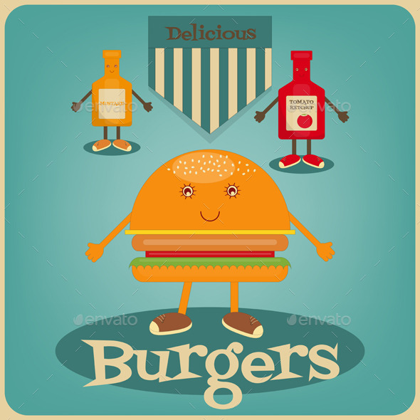 GraphicRiver Burger 11032920