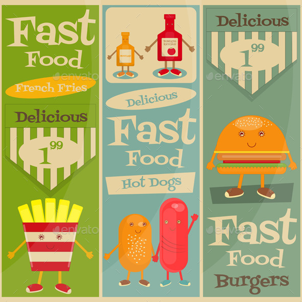 GraphicRiver Fast Food Menu 11032934
