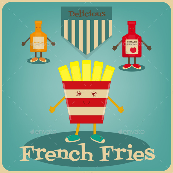 GraphicRiver French Fries 11032944