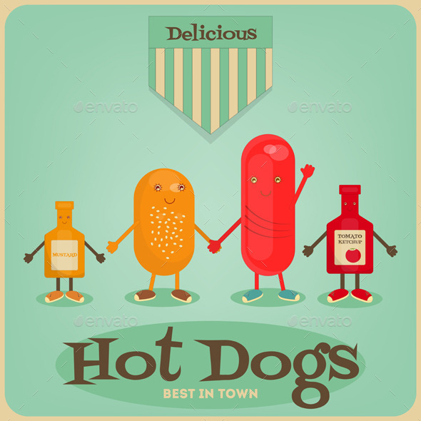 GraphicRiver Hot Dog 11032950