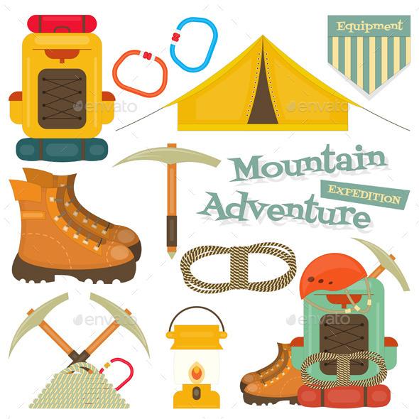 GraphicRiver Mountain Climbing 11032957