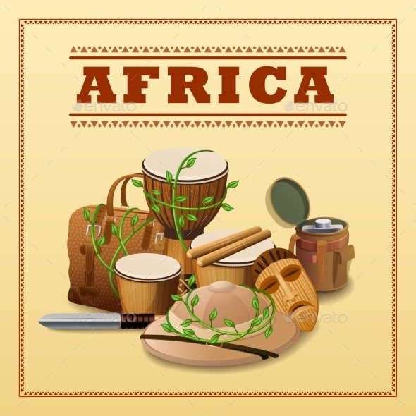 GraphicRiver African Travel Background 11033079