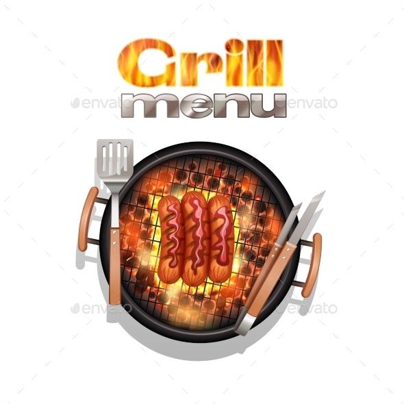 GraphicRiver Grill Menu Design 11033092