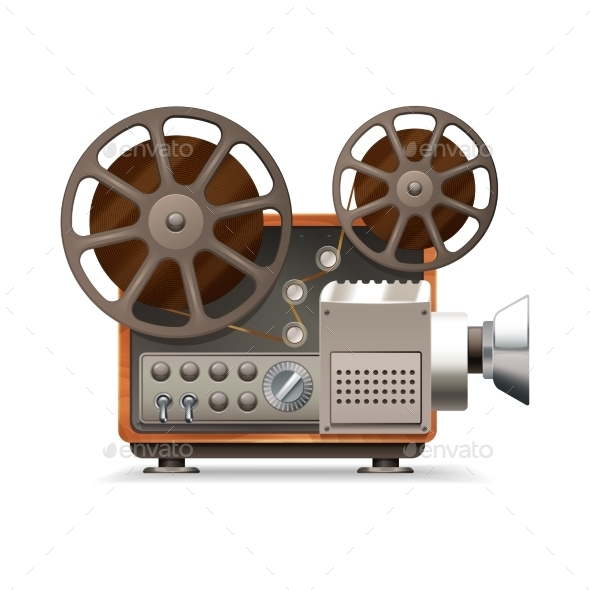 GraphicRiver Film Projector 11033106