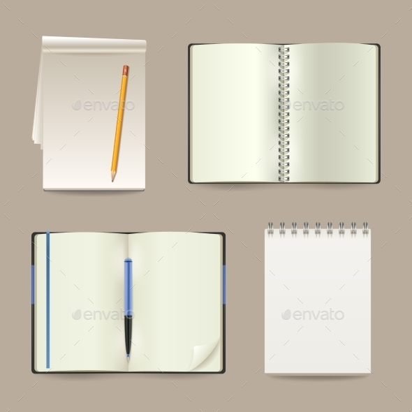 GraphicRiver Notebook Set 11033107