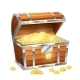 Chest With Coins - GraphicRiver Item for Sale