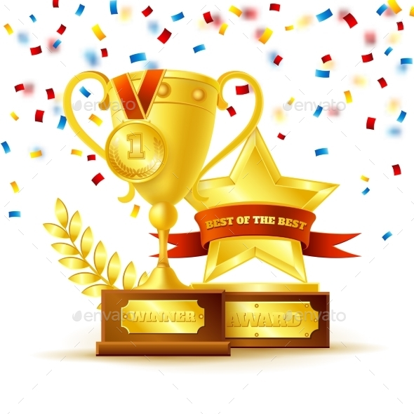 GraphicRiver Medal and Cup 11033146