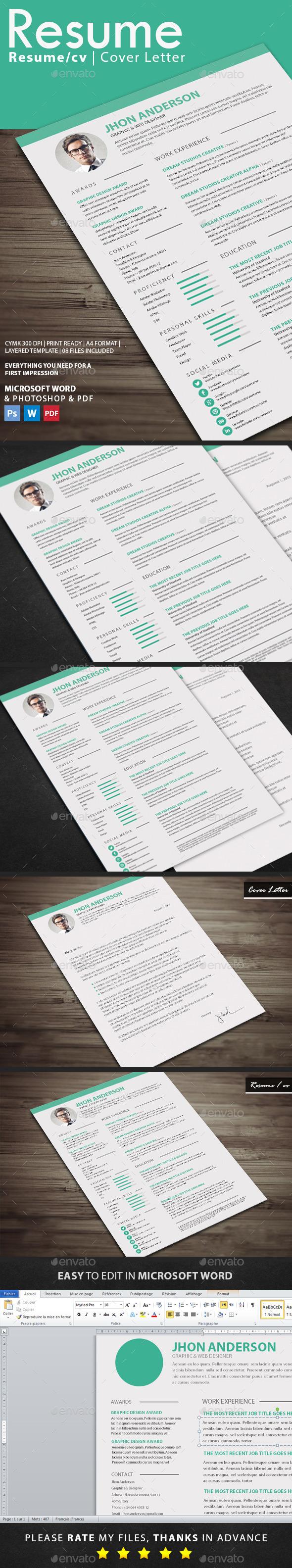 GraphicRiver Resume 11033195