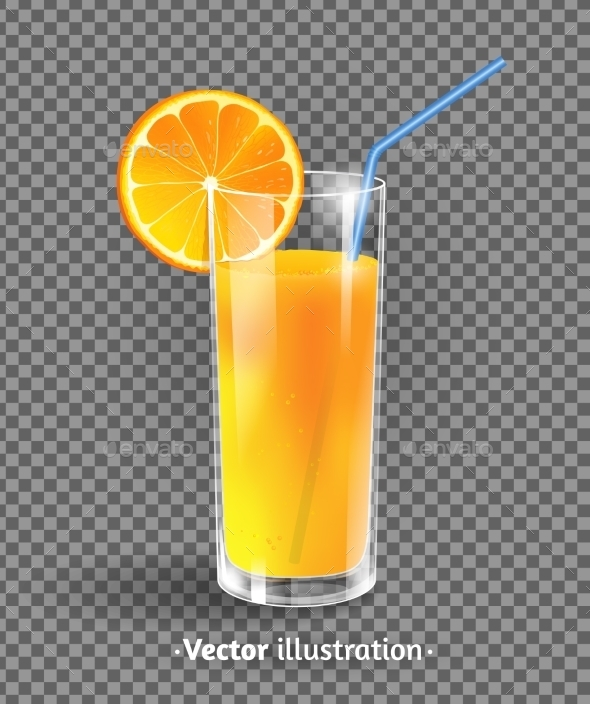GraphicRiver Glass of Orange Juice 11033326